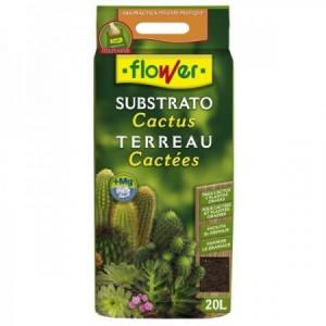 SUSTRATO CACTUS Y CRASAS 20L FLOWER