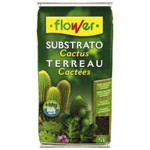 SUSTRATO CACTUS Y CRASAS 5L FLOWER