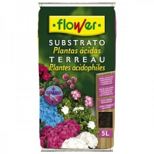 SUSTRATO PLANTAS ACIDAS 5L FLOWER