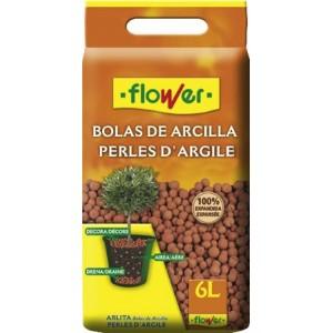 BOLAS DE ARCILLA DECORATIVAS 6L FLOWER